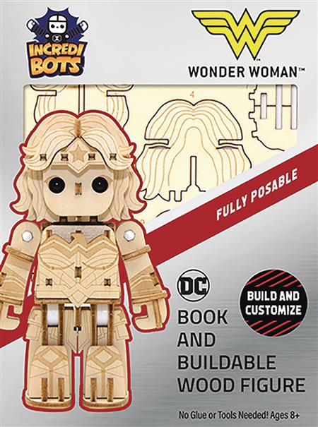 INCREDIBUILDS DC WONDER WOMAN INCREDIBOTS MODEL (C: 1-1-0)