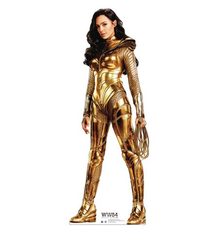 WONDER WOMAN 1984 GOLD OUTFIT LIFE-SIZE STAND UP (C: 1-1-0)