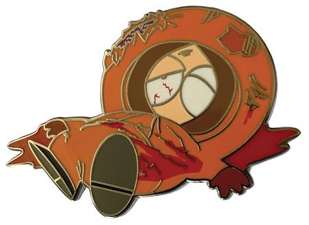 SOUTH PARK DEAD KENNY ENAMEL PIN (C: 1-1-0)