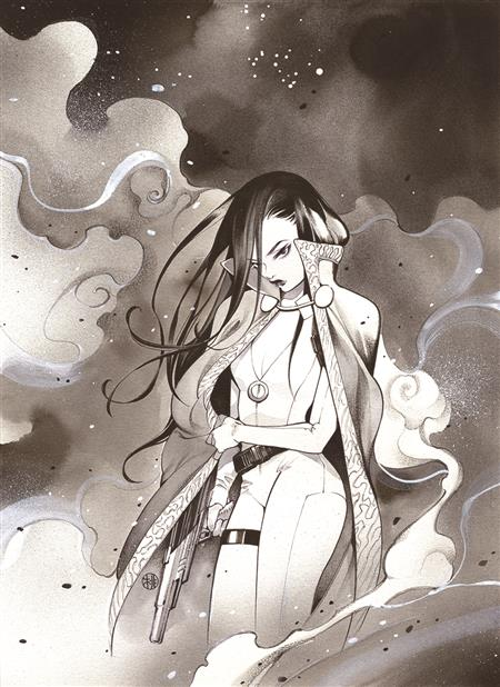 BATMAN BLACK AND WHITE #1 (OF 6) CVR C PEACH MOMOKO TALIA VAR