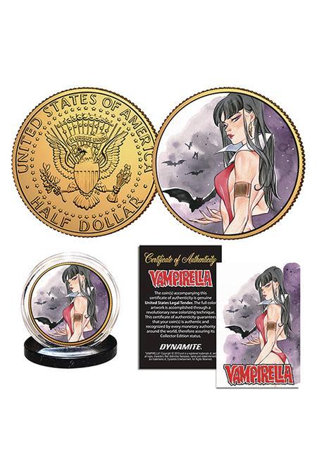 VAMPIRELLA MOMOKO VAMPIRELLA #12 COLL COIN (C: 0-1-2)