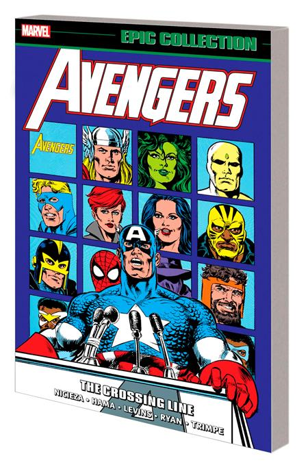 AVENGERS EPIC COLL TP CROSSING LINE