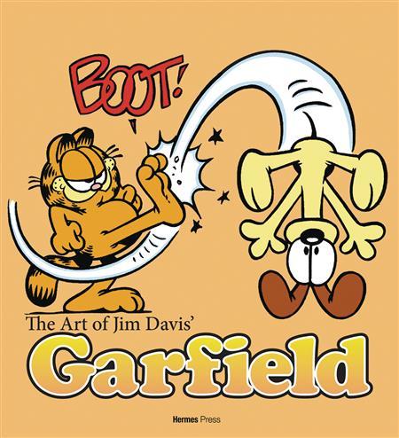 ART OF JIM DAVIS GARFIELD REG HC