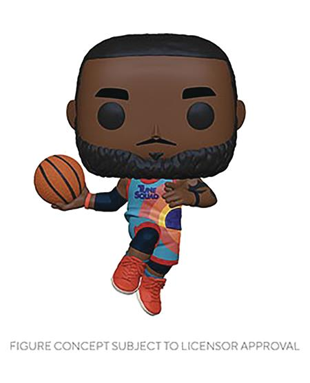 POP MOVIES SPACE JAM NEW LEGACY S2 LEBRON LEAPING VIN FIG (C