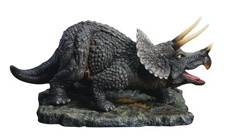 ONE MILLION YEARS BC TRICERATOPS POLYRESIN STATUE (Net) (C: