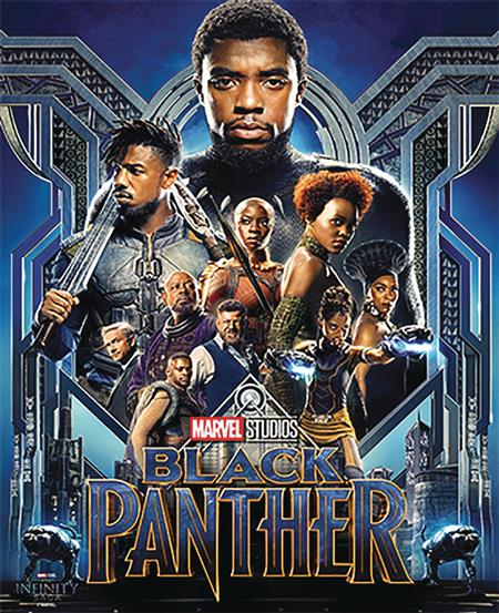 BLACK PANTHER WOOD 16IN WALL ART (C: 1-1-2)