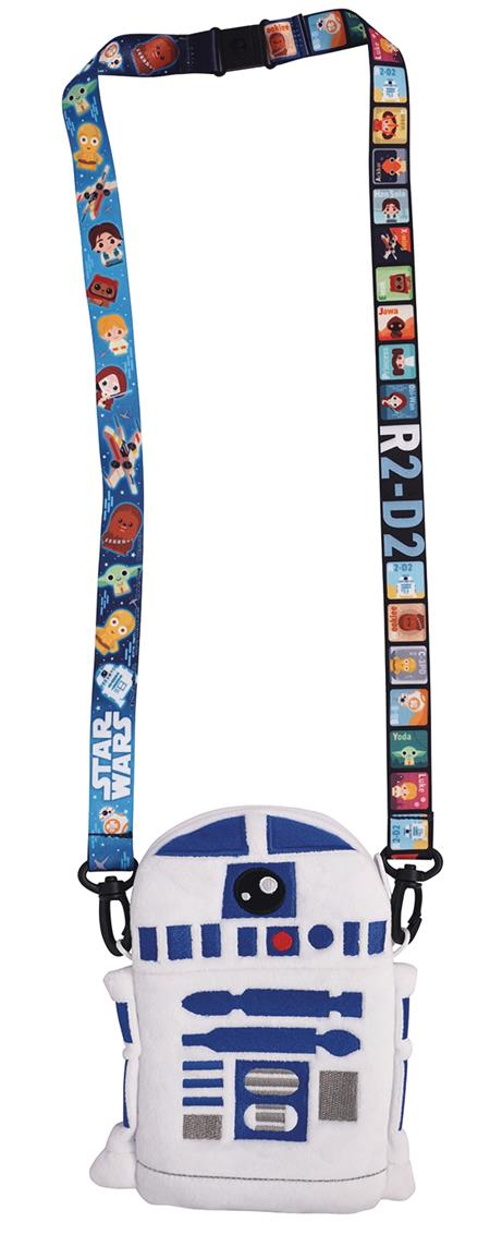 STAR WARS R2-D2 DELUXE LANYARD W/ CARD HOLDER (C: 1-1-2)
