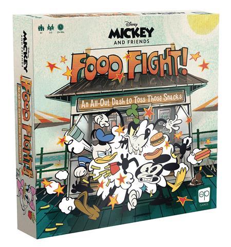 DISNEY MICKEY & FRIENDS FOOD FIGHT GAME (C: 0-1-2)