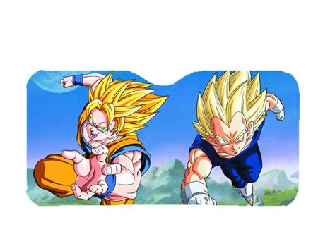 Dragon Ball Z Goku And Vegeta Car Shade (C: 1-1-2