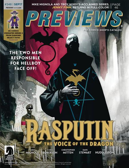 PREVIEWS #350 NOVEMBER 2017  Includes a FREE Marvel Previews and Image Plus