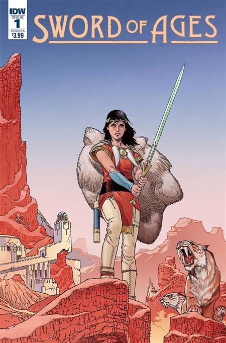 SWORD OF AGES #1 CVR A RODRIGUEZ