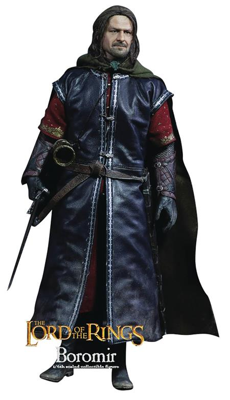 LORD OF THE RINGS BOROMIR 1/6 AF W/ROOTED HAIR (C: 1-1-2)