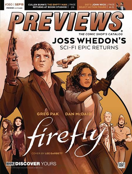 PREVIEWS #362 NOVEMBER 2018 (Net) * Includes a FREE DC Previews