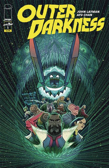 OUTER DARKNESS #1 (MR)
