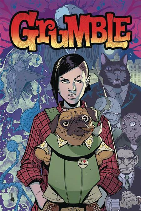 GRUMBLE #1 (OF 5) CVR A  MIKE NORTON