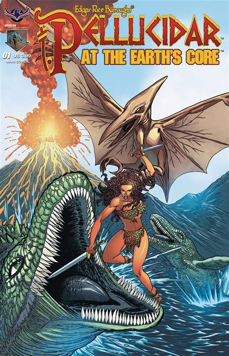 PELLUCIDAR AT EARTHS CORE #1 CVR A HILINSKI