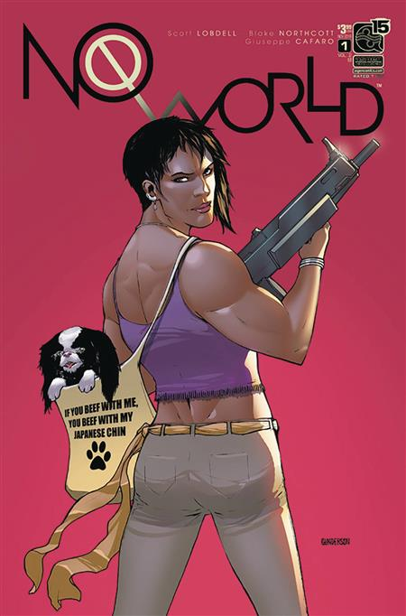 NO WORLD VOL 2 #1 CVR B GUNDERSON