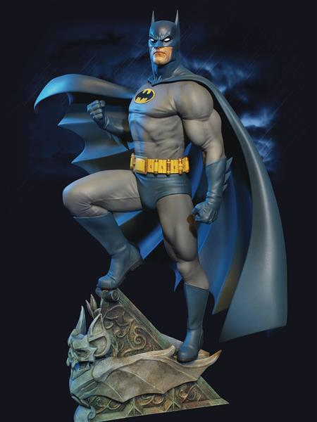 BATMAN SUPER POWERS MAQUETTE (C: 1-1-2)