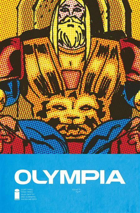 OLYMPIA #1 (OF 5) CVR A DIOTTO & CUNNIFFE