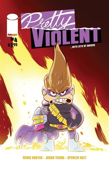 PRETTY VIOLENT #4 (MR)