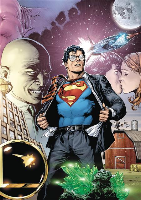 SUPERMAN SECRET ORIGIN DLX ED HC