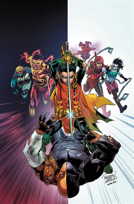 TEEN TITANS DEATHSTROKE THE TERMINUS AGENDA HC