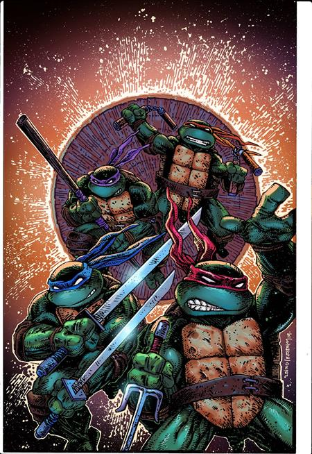 TMNT ONGOING #100 50 COPY INCV LAIRD & EASTMAN (Net)