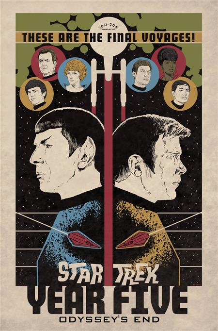 STAR TREK YEAR FIVE TP VOL 01 ODYSSEYS END (C: 0-1-2)
