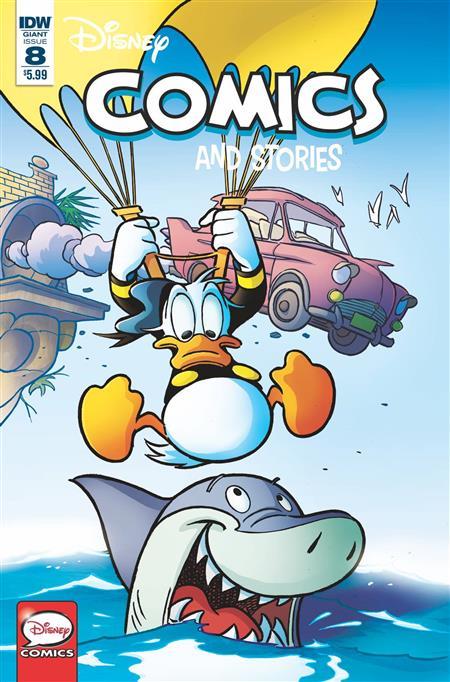 DISNEY COMICS AND STORIES #8 CVR A FRECCERO (C: 1-0-0)