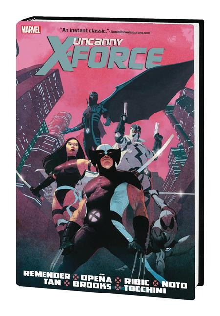 UNCANNY X-FORCE BY REMENDER OMNIBUS HC NEW PTG