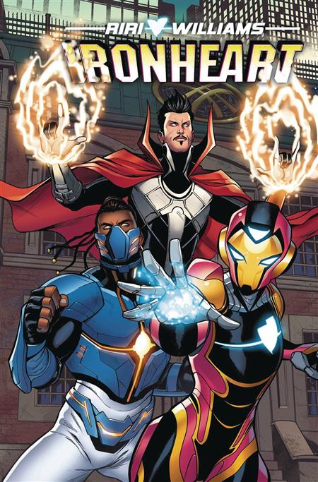 IRONHEART TP VOL 02 TEN RINGS