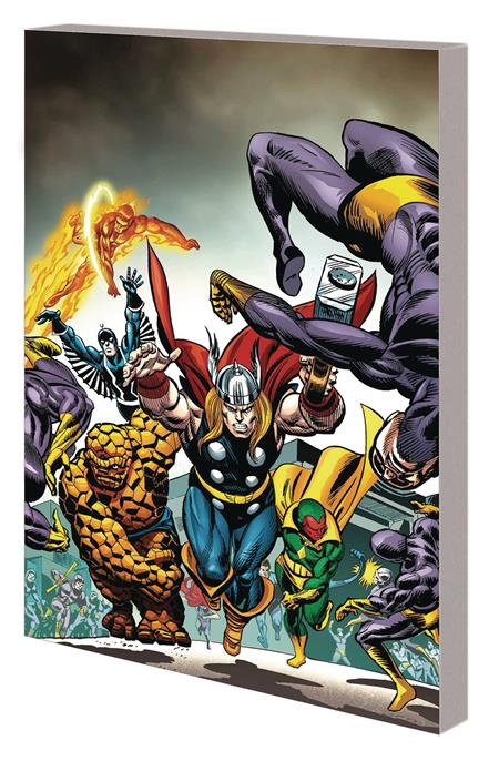 AVENGERS VS FANTASTIC FOUR TP