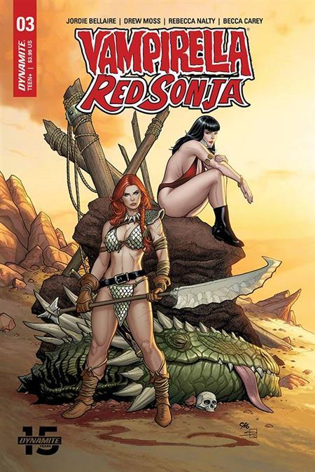 VAMPIRELLA RED SONJA #3 CVR A CHO & RICH