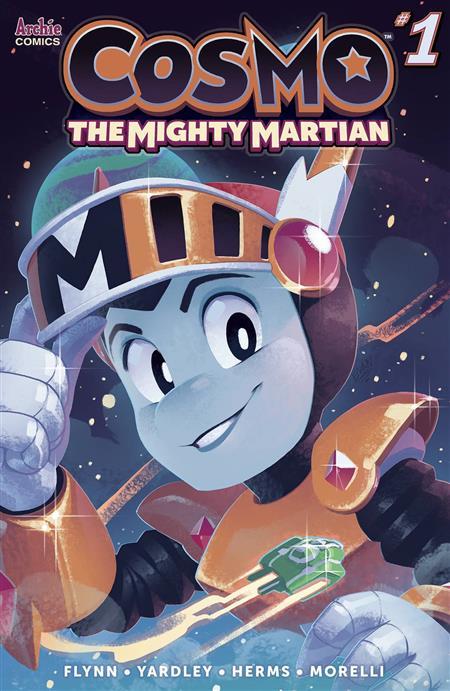 COSMO MIGHTY MARTIAN #1 (OF 5) CVR E STANLEY