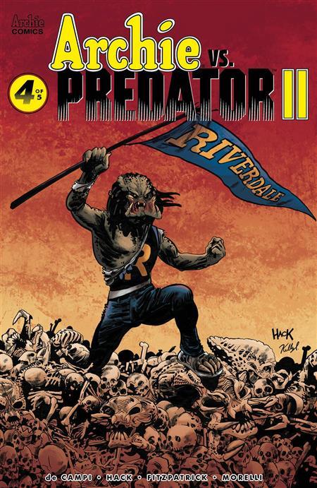 ARCHIE VS PREDATOR 2 #4 (OF 5) CVR A HACK