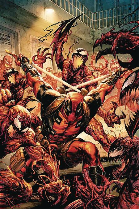 DF ABSOLUTE CARNAGE VS DEADPOOL #1 KIRKHAM SGN (C: 0-1-2)