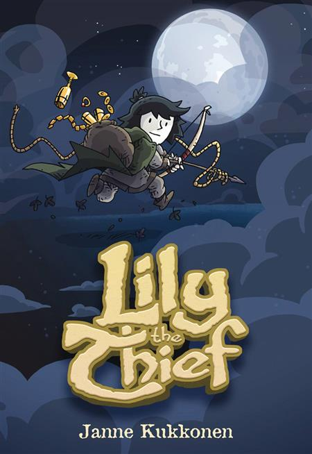 LILY THE THIEF GN (C: 0-1-0)
