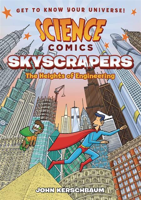 SCIENCE COMICS SKYSCRAPERS GN (C: 0-1-0)