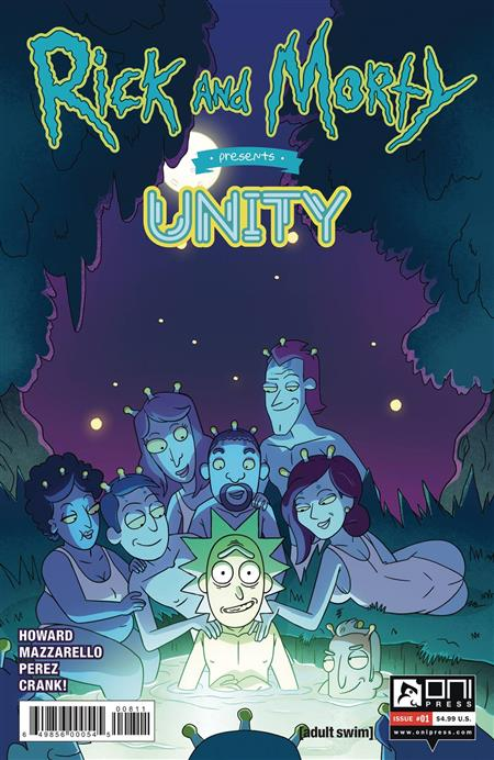 RICK AND MORTY PRESENTS UNITY #1 CVR A CANNON (MR)