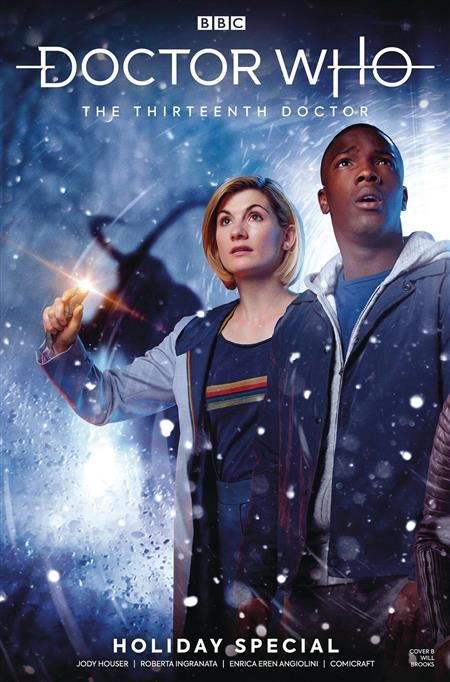 DOCTOR WHO 13TH HOLIDAY SPECIAL #1 CVR B PHOTO