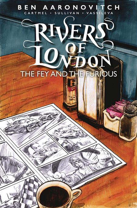 RIVERS OF LONDON FEY & THE FURIOUS #1 CVR B HACK (MR)
