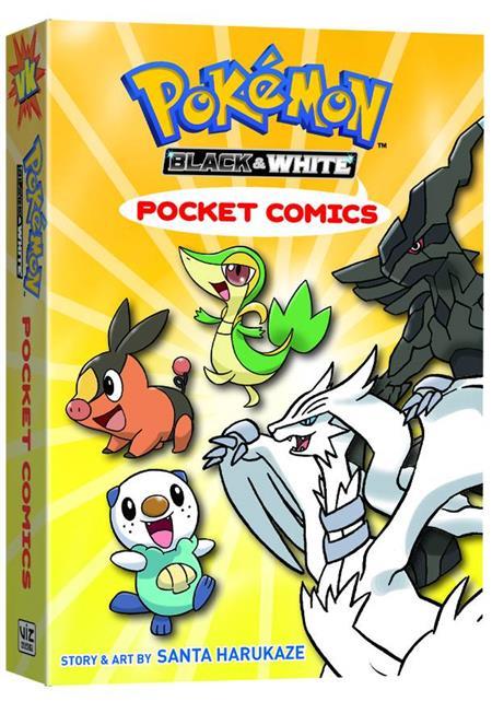 POKEMON POCKET COMICS BLACK & WHITE GN (C: 1-0-0)