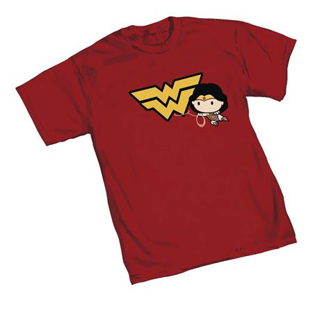 DC HEROES WONDER WOMAN LASSO SYMBOL T/S LG (C: 1-1-0)