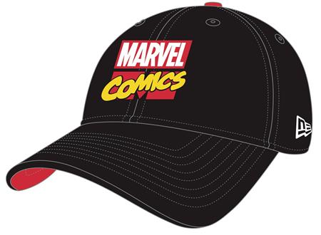 MARVEL COMICS LOGO 80TH ANNIVERSARY PX FLEXFIT CAP (C: 1-1-1
