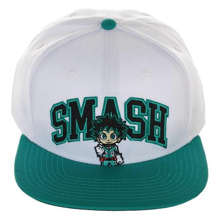 MY HERO ACADEMIA SMASH COLLEGIATE SNAPBACK CAP (C: 0-0-2)