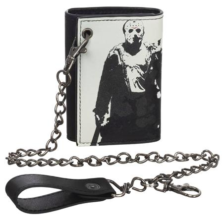 FRIDAY THE 13TH TRI-FOLD CHAIN WALLET (C: 1-0-2)
