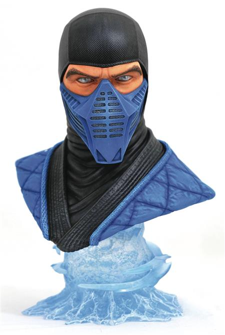 MORTAL KOMBAT 11 LEGENDS IN 3D SUB ZERO 1/2 SCALE BUST (C: 1