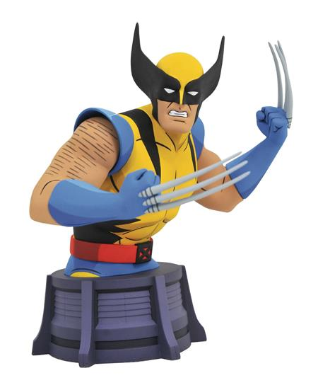 MARVEL ANIMATED X-MEN WOLVERINE BUST (C: 1-1-2)