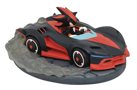 SONIC RACERS GALLERY SHADOW PVC STATUE (C: 1-1-2)