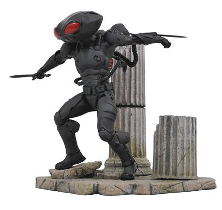 DC COMICS GALLERY AQUAMAN MOVIE BLACK MANTA PVC STATUE (C: 1